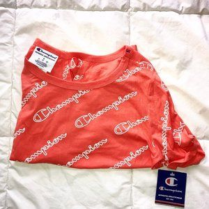 Orange Champion Top with Tags